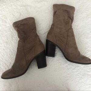 Forever 21 Shoes - Faux Suede Sock Boots